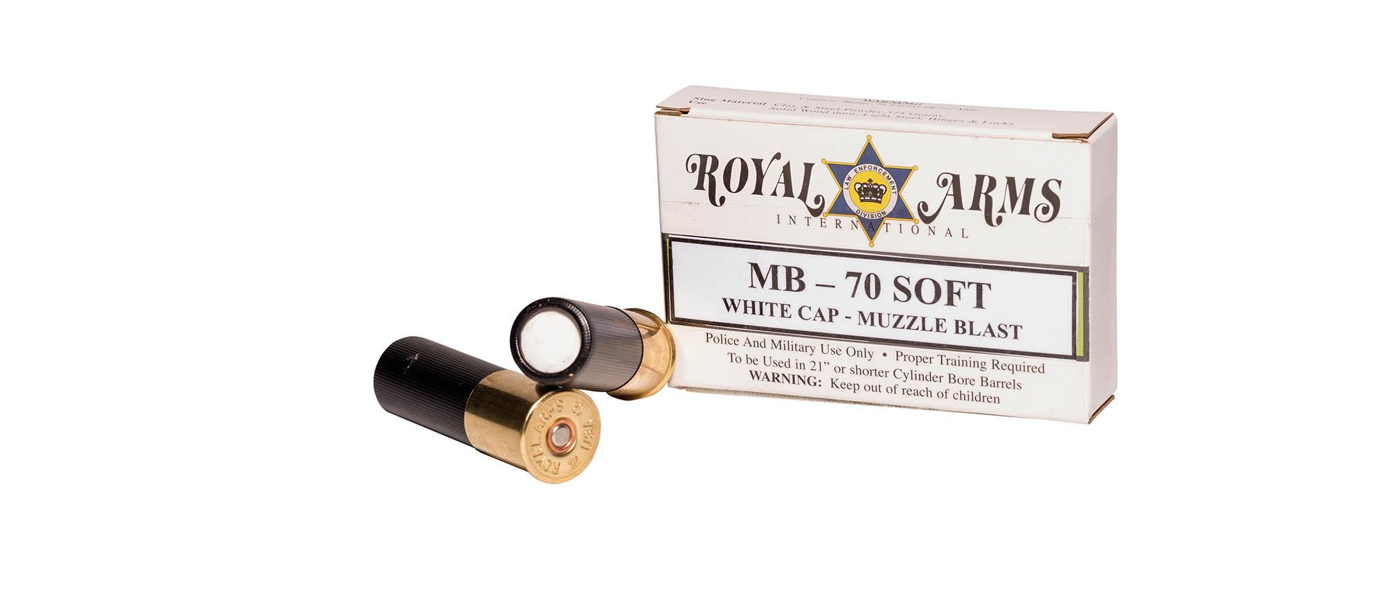 MB-70S 12 GA Muzzle Blast Flash Bang Soft
