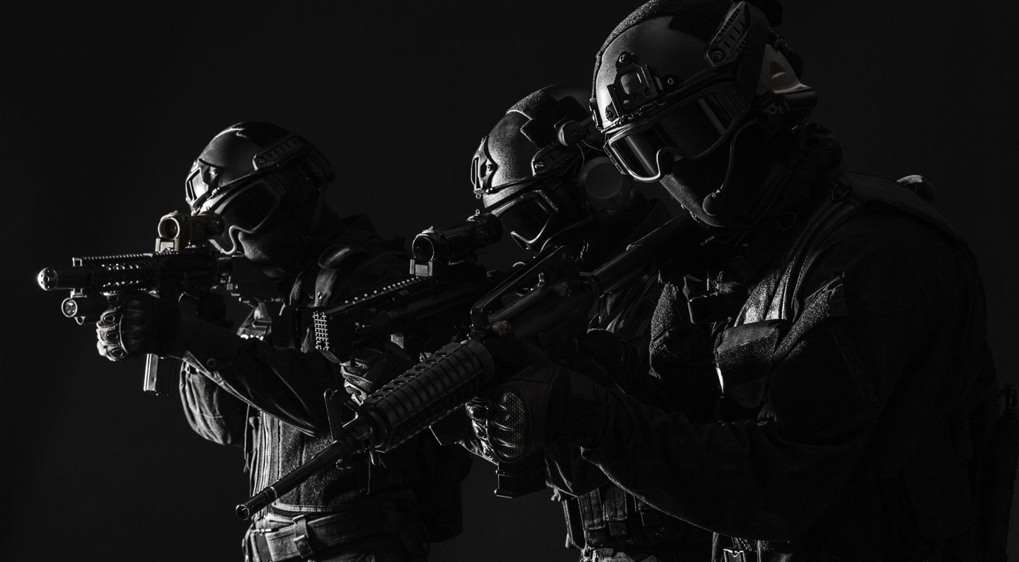 Tactical Breaching, Hostage Rescue, Close Quarter Combat, and EOD/IED bomb disposal equipment