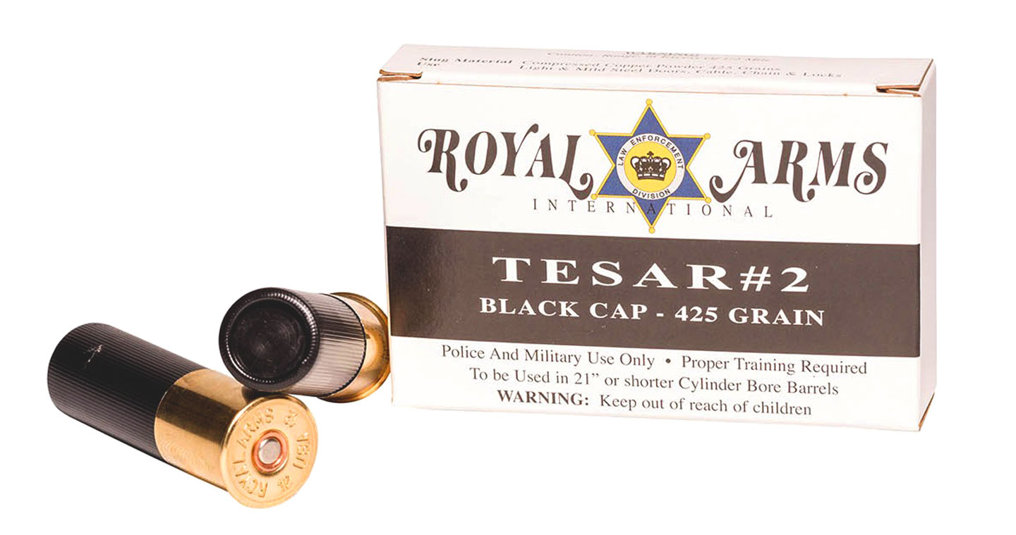 Royal Arms Tesar 2 Black Cap Shotgun Slug